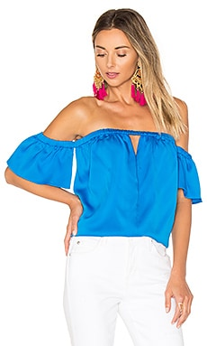 Blaire Top in Lapis