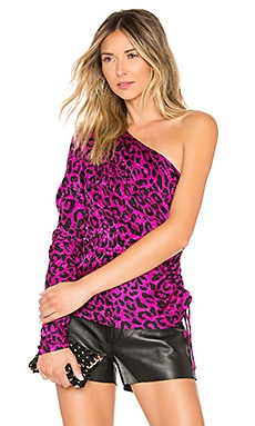 Leopard Cara Top MILLY $395