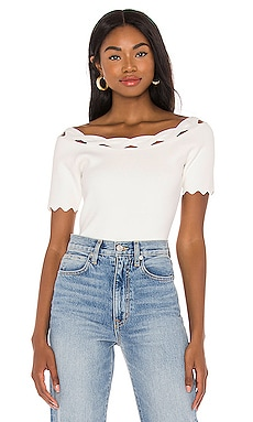 Kyhl Twist Trim Top MILLY $160
