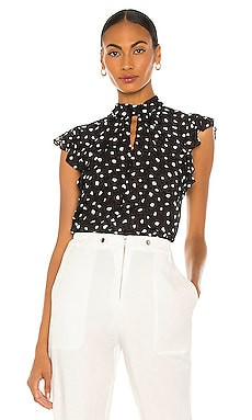 Fara Dot Burnout Top MILLY $295