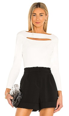 Cutout Front Top MILLY $325