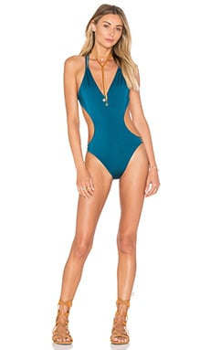 MILLY Hvar Swimsuit in Seagrass