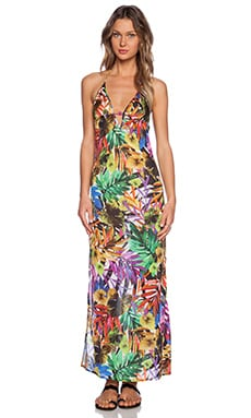 MILLY Tropical Print St. Helena Maxi Dress in Multi