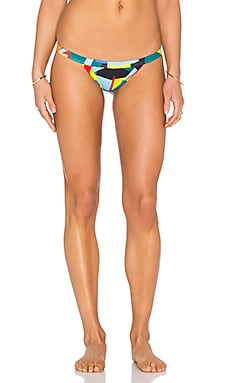 Surfer Cheeky Bikini Bottom in Multi