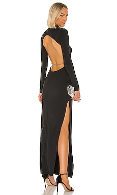 X REVOLVE Backless Crystal Dress Michael Lo Sordo $395 NEW ARRIVAL