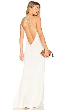 Shay Maxi Dress in White