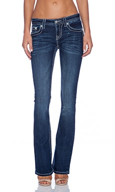 Miss Me Jeans Midrise Boot in DK 283