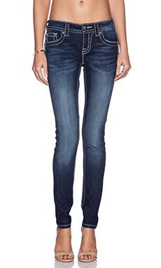 Miss Me Jeans Mid Rise Skinny Jean in DK 3229