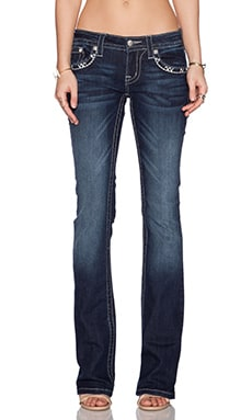 Miss Me Jeans Bootcut Jeans in DK 348