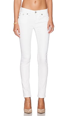 Miss Me Jeans Mid-Rise Cuffed Skinny in WT 01
