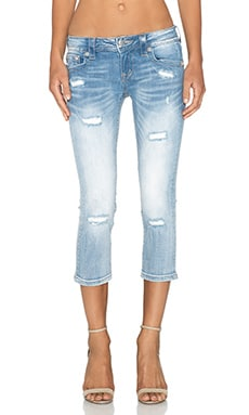 Miss Me Jeans Capri in LT 60