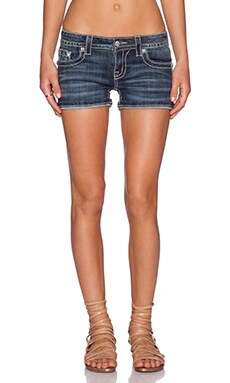 Miss Me Jeans Denim Short in MK 386