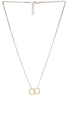 Mimi & Lu Float Necklace in Silver & Gold