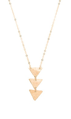 Mimi & Lu Brooke Necklace in Gold