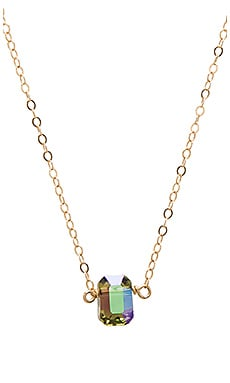 Mimi & Lu Harlow Necklace in Gold & Paradise Shine