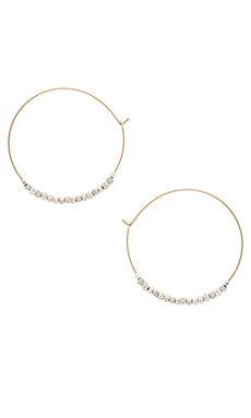 Mimi & Lu Unite Earrings in Gold & Silver