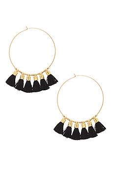 Sonia Tassel Earrings in Midnight