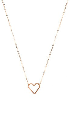 Luella Necklace in Rose Gold