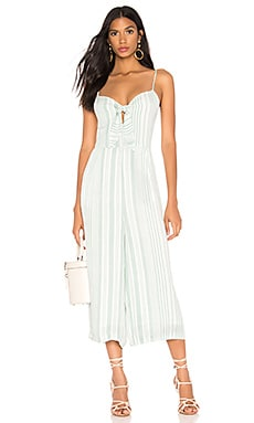 Low Tide Tie Front Jumpsuit MINKPINK $29 (FINAL SALE)