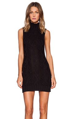 MINKPINK Sleeping Beauty Dress in Black