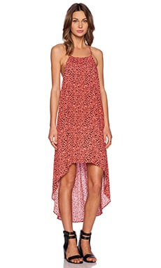 MINKPINK Wild Weather Hi Lo Maxi Dress in Multi