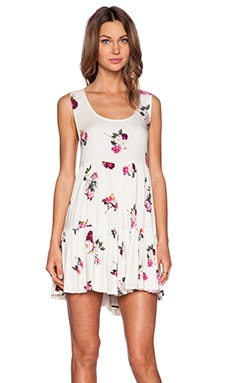 MINKPINK Pink Petals Dress in Multi