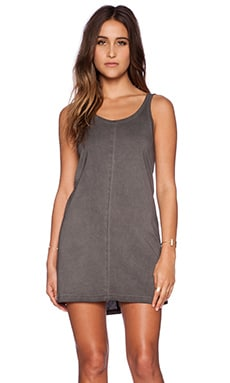MINKPINK Low Back Dress in Charcoal