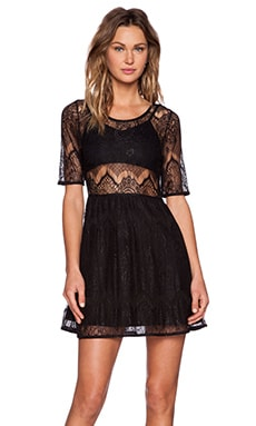 MINKPINK Meet Me In St. Louis Dress in Black