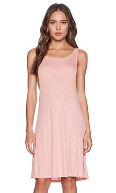 MINKPINK Salt Sea Swing Dress in Peach