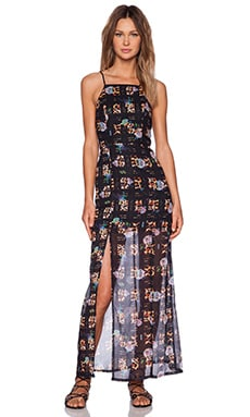 MINKPINK Jungle Fever Maxi Dress in Multi