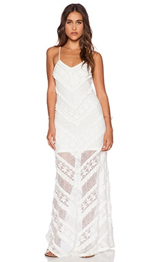 MINKPINK The Rum Diary Dress in Cream