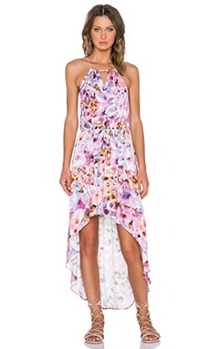 MINKPINK My Sweet Garden Hi Lo Maxi Dress in Multi