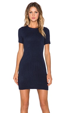 MINKPINK Young Hearts Mini Dress in Navy