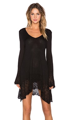 MINKPINK In The Clouds Dress in Black