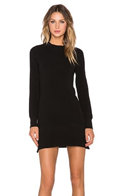 MINKPINK Ultimate Long sleeve Dress in Black