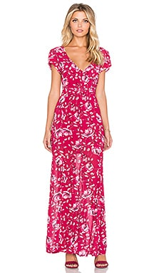 MINKPINK Pretty Poppies Maxi Dress in Multi