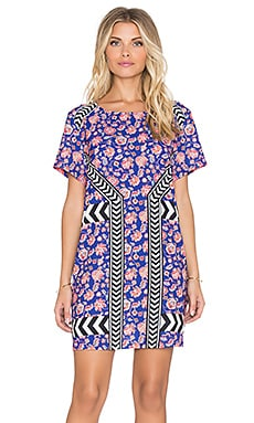 MINKPINK Global Traveller Mini Dress in Multi