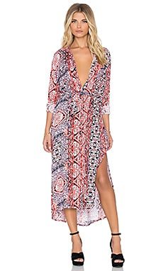 MINKPINK Magestic Carpet Maxi Dress in Multi