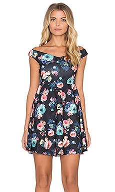 MINKPINK Sweetheart Dress Floral in Black