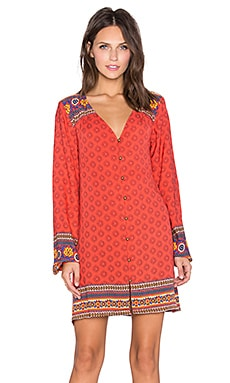 MINKPINK Boho Queen Dress in Multi