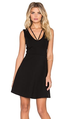MINKPINK All About It Mini Dress in Black