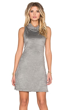 MINKPINK Urban Escape Dress in Grey Marle