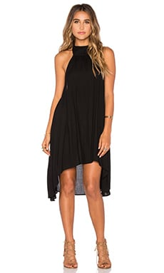 Hot Scoop Dress in Black