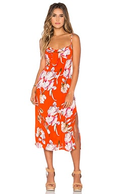 Tangerine Dream Midi Dress in Multi
