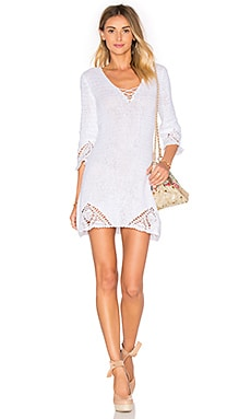 Knot Me Dress in White