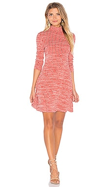 MINKPINK Seven Wonders Dress in Rust
