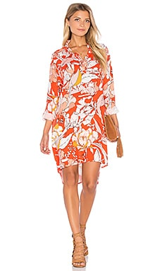 Orange Blossom Dress in Multi