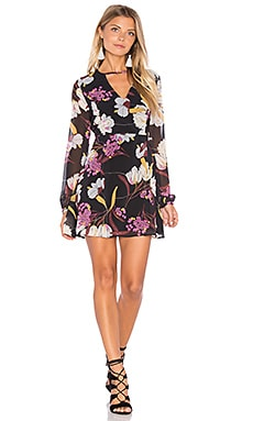 Lost in Paradise Dress em Multi
