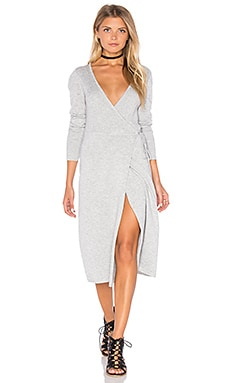MINKPINK Silver Mist Dress in Grey Marle