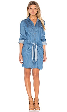 Jericho Shirt Dress en Mid Blue